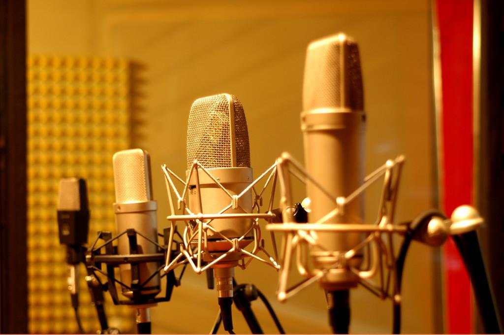 Einige Micros des Sound Factory Tonstudios