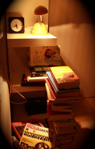 """Und so sieht mein """"Nachttischlein"""" aus...)"""