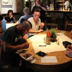 Autogrammstunde der Künstler von Ocean One Records